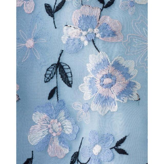 TOCCA(トッカ)の【美品】TOCCA フォーチュン スカート ブルー サイズ6 フォーチュン レディースのスカート(ひざ丈スカート)の商品写真
