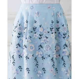 TOCCA - 【美品】TOCCA フォーチュン スカート ブルー サイズ6 フォーチュン