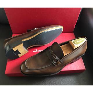 Salvatore Ferragamo - 【約11万・新品】サルヴァトーレフェラガモ ローファー 革靴