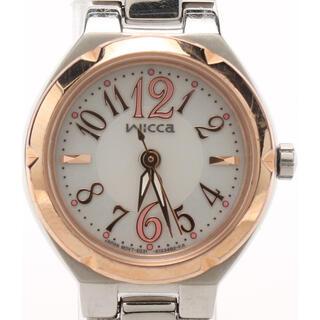 CITIZEN - シチズン wicca 腕時計 レディース  シルバー