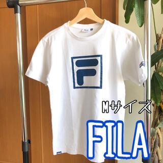 FILA - FILA Fiia フィラ 白ティーシャツ