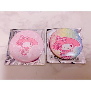 マイメロディ - サンリオ ナムコ マイメロディ B賞 缶バッジ
