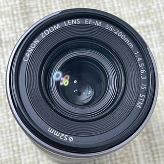 Canon - Canon  キャノンEF-M 55〜200mm IS STM シルバー