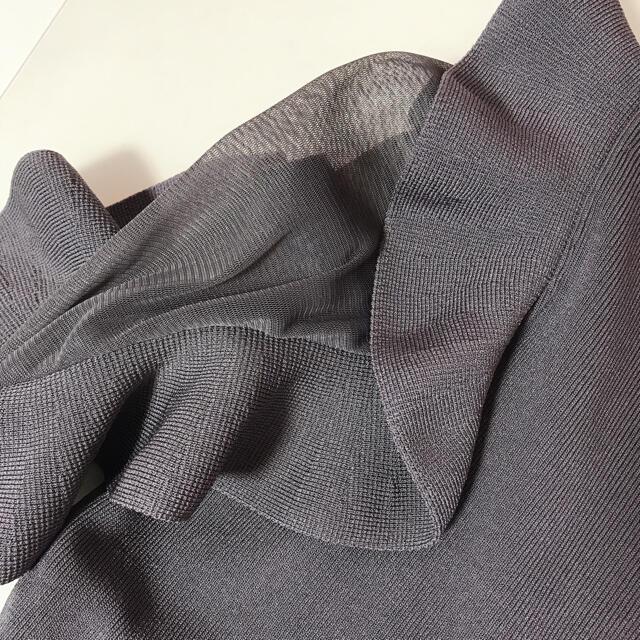 snidel(スナイデル)の正規品 フリル切り替えニット snidel レディースのトップス(ニット/セーター)の商品写真