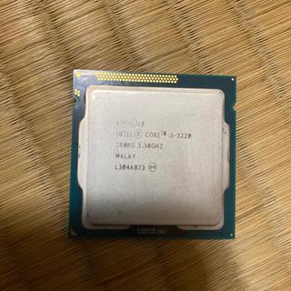 インテレクション(INTELECTION)のIntel i3-3220 i3-2120 2個セットCoreおまけ付き(PCパーツ)