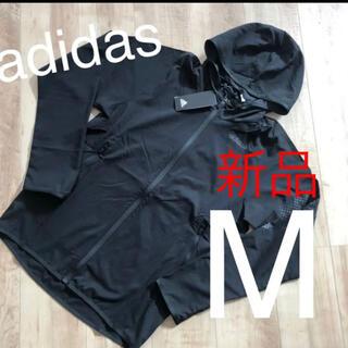 adidas - ☆新品☆アディダス メンズナイロンアウター ブラック Mサイズ