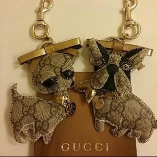 Gucci - グッチ フレンチブルドッグ チワワ キーホルダー 二点セット GUCCI