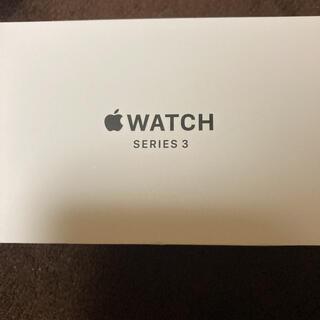 Apple Watch - Apple Watch Series 3 38mm GPSモデル スペースグレイ