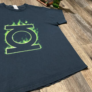 フィアオブゴッド(FEAR OF GOD)の00s グリーン・ランタン T-SHIRT 確認用(Tシャツ(半袖/袖なし))