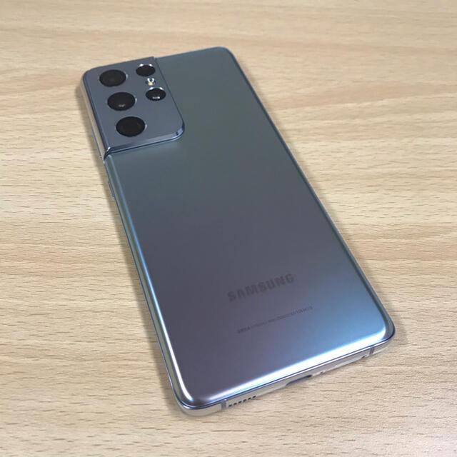 Galaxy(ギャラクシー)のGalaxy S21 Ultra 5G シルバー 256GB SIMフリー スマホ/家電/カメラのスマートフォン/携帯電話(スマートフォン本体)の商品写真