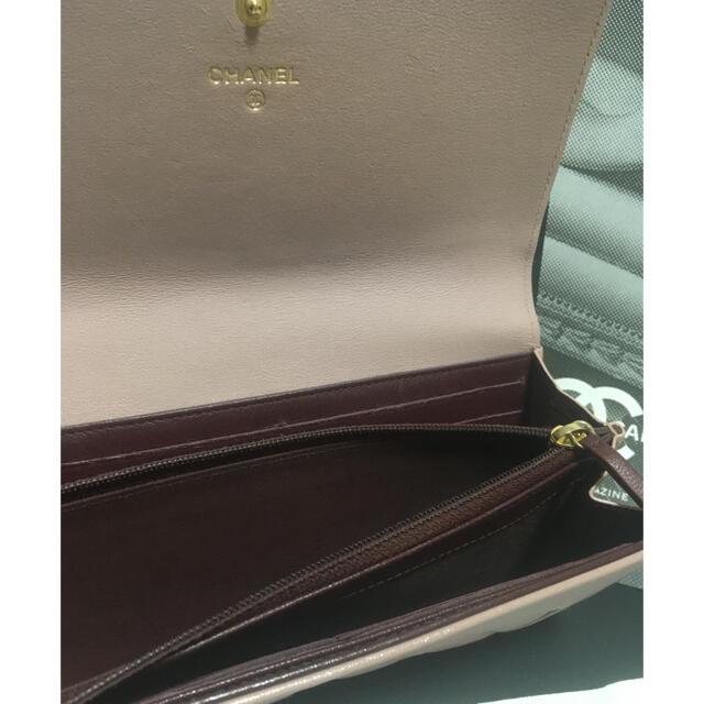 CHANEL(シャネル)の超美品 ★シャネル マドモアゼル 長財布 ピンク 正規品 レディースのファッション小物(財布)の商品写真