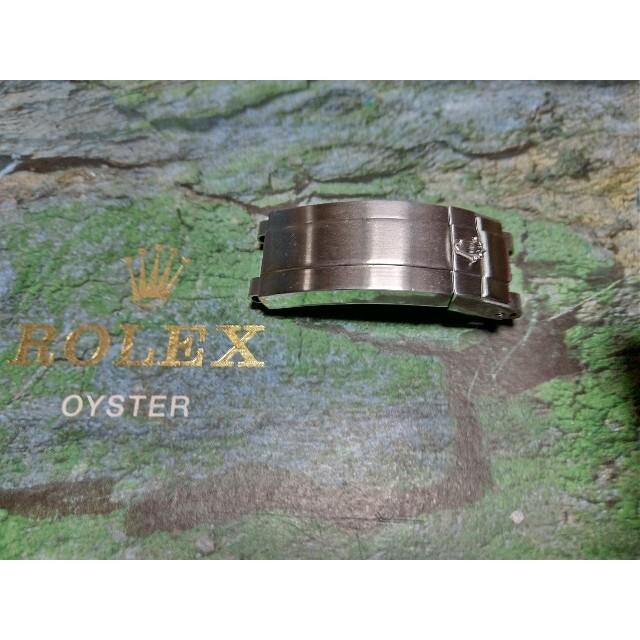 ROLEX(ロレックス)のロレックス 最終値下げ 本日削除 オイスターブレスバックル3つ折れバックルセット メンズの時計(金属ベルト)の商品写真