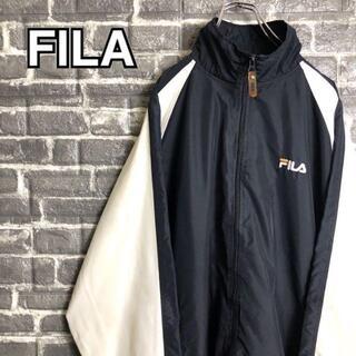フィラ(FILA)のフィラ☆ナイロンジャケット【ゆるだぼ】【90s】【L】【ビッグシルエット】922(ナイロンジャケット)