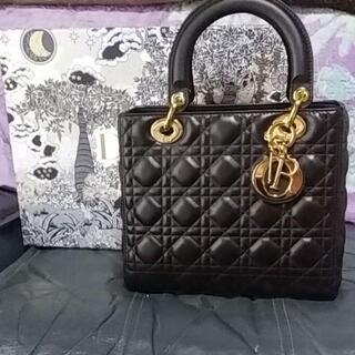 Dior - 新品同様 Dior レディディオール ハンドバッグ