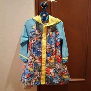ミニケー(MINI-K)のレインコート(110㎝)収納巾着袋つき(コート)