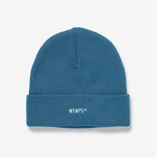 ダブルタップス(W)taps)のWTAPS 21ss BEANIE 03 COPO. COOLMAX BLUE(ニット帽/ビーニー)