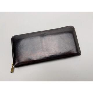 タケオキクチ(TAKEO KIKUCHI)のD448 タケオキクチ 長財布 ラウンドファスナー カード20枚収納(長財布)
