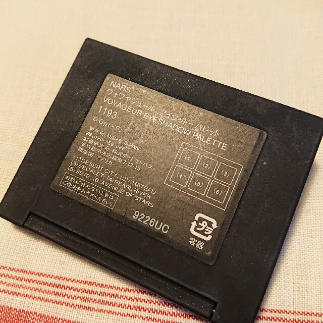 NARS(ナーズ)のNARS アイシャドーパレット 1193 コスメ/美容のベースメイク/化粧品(アイシャドウ)の商品写真