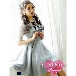 Ryuyu ミニドレス ワンピース キャバドレス 袖付き