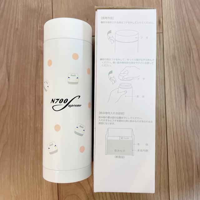 JR(ジェイアール)の【非売品】ホワイト タンブラー 280ml JTB 新幹線 インテリア/住まい/日用品のキッチン/食器(タンブラー)の商品写真