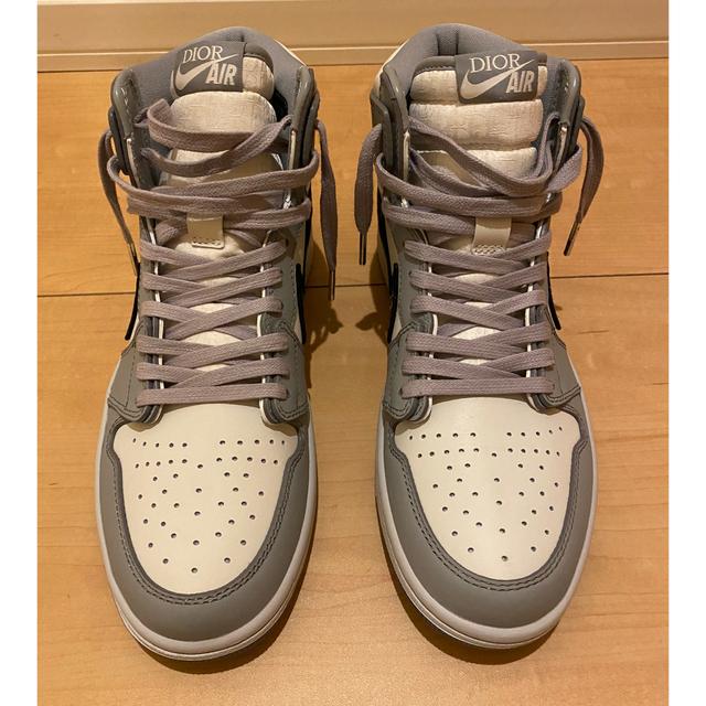 NIKE(ナイキ)のdude9系 Dior x Air Jordan 1 High OG メンズの靴/シューズ(スニーカー)の商品写真