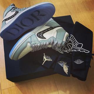 dude系 Dior x Air Jordan 1 High OG