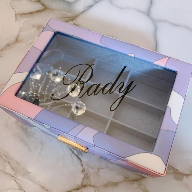 Rady(レディー)のradyレア♡ノベルティーミルフルールマーブル柄ジュエリーボックス エンタメ/ホビーのコレクション(ノベルティグッズ)の商品写真