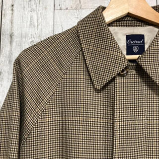 ORCIVAL checked coat