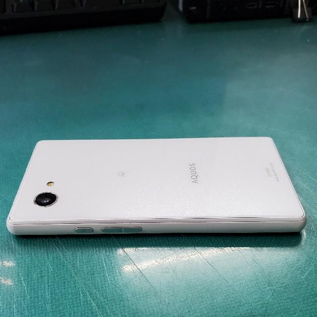 SHARP(シャープ)の【良品】AQUOS mini SH-M03 SIMフリー スマホ/家電/カメラのスマートフォン/携帯電話(スマートフォン本体)の商品写真