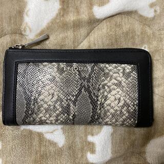 エモダ(EMODA)のEMODA パイソン柄 財布(財布)