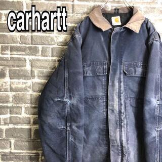 カーハート(carhartt)のカーハート☆アクティブジャケット ダックジャケット ゆるだぼ 古着 c9(ブルゾン)