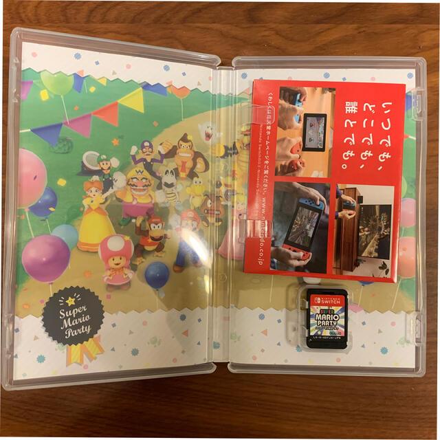 スーパー マリオパーティ Switch エンタメ/ホビーのゲームソフト/ゲーム機本体(家庭用ゲームソフト)の商品写真