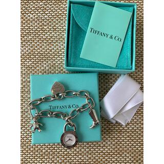 Tiffany & Co. - ティファニー 時計チャーム付きブレスレット