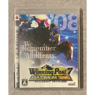コーエーテクモゲームス(Koei Tecmo Games)のPS3「ウイニングポスト7 マキシマム2008」(家庭用ゲームソフト)