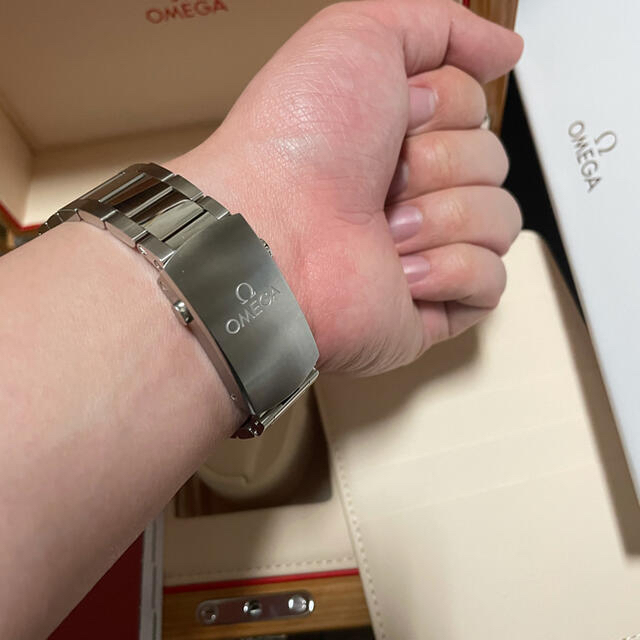 OMEGA(オメガ)のオメガ シーマスター300 メンズの時計(腕時計(アナログ))の商品写真