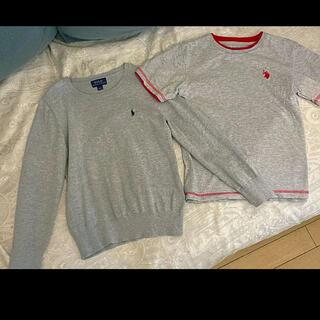 POLO RALPH LAUREN - ポロラルフローレン2着セット、Tシャツ、薄手ニット