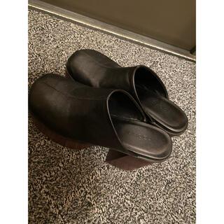 エモダ(EMODA)のemodaラウンドステッチシューズ(ローファー/革靴)