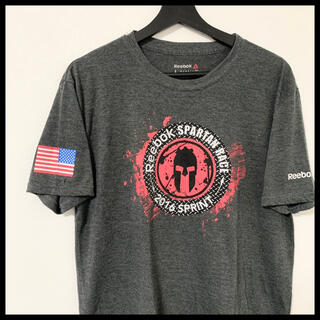 リーボック(Reebok)のReebok リーボック ロゴ多め 半袖Tシャツ Spartan Race(Tシャツ/カットソー(半袖/袖なし))