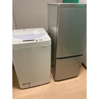 シャープ(SHARP)の有名メーカー一人暮らし家電セット!大阪、大阪近郊送料無料(冷蔵庫)