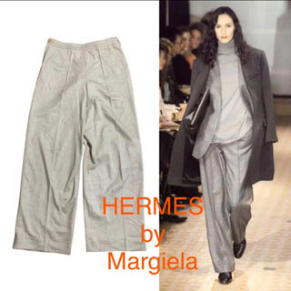 Hermes - HERMES by margiela エルメスマルジェラ期カシミヤワイドパンツ
