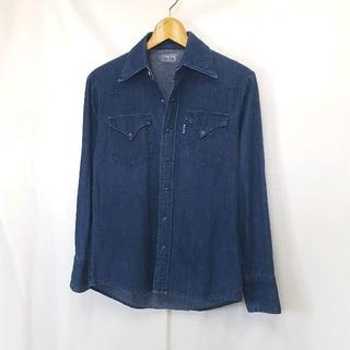ブルーブルー(BLUE BLUE)の★日本製 BLUE BLUE デニム ロングスリーブ ウエスタンシャツ(シャツ)