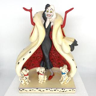 ディズニー(Disney)のエネスコ ディズニー トラディション 101匹わんちゃん クルエラ フィギュア(置物)