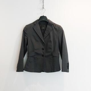 カオン(Kaon)のKaon カオン チャコールグレー ジャケット 美品(テーラードジャケット)