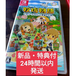 Nintendo Switch - 牧場物語 オリーブタウンと希望の大地 牧場物語 switch オリーブ