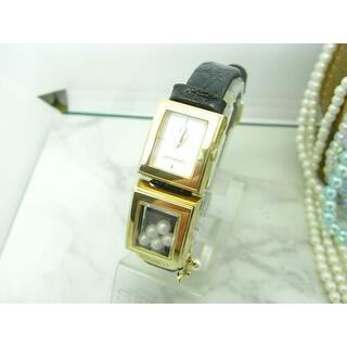 ミキモト(MIKIMOTO)のミキモト MIKIMOTO パール レディース ウォッチ 電池&ベルト新品(腕時計)