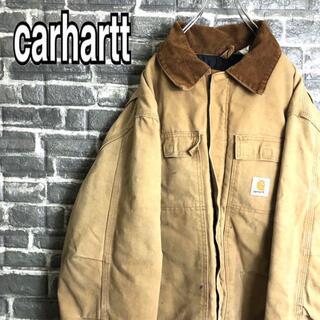 カーハート(carhartt)のカーハート☆アクティブジャケット 古着 ダック生地 ワンポイントロゴ b31 .(ブルゾン)