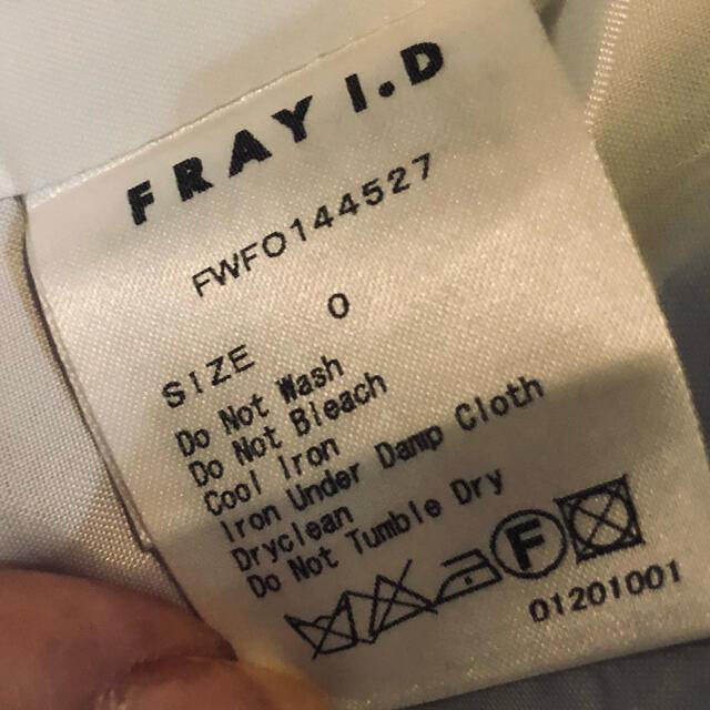 FRAY I.D(フレイアイディー)のFRAY I.D/チェックリボンワンピース レディースのワンピース(ひざ丈ワンピース)の商品写真