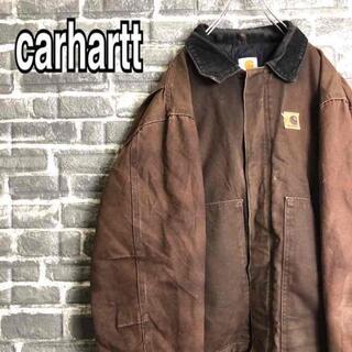 カーハート(carhartt)のカーハート☆アクティブジャケット USA製 ゆるだぼ ダック生地 ロゴ b24.(ブルゾン)