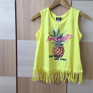 アナップキッズ(ANAP Kids)のANAP GIRL  フリンジタンクトップ Tシャツ 150㎝〜160㎝(Tシャツ/カットソー)