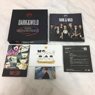 防弾少年団(BTS) - bts DARK&WILD アルバム トレカ ジン